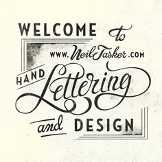 Welcome to  by Neil Tasker