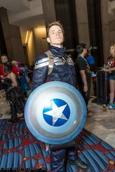 Character: Captain America / From: MARVEL Studios 'Captain America: The Winter Soldier' / Cosplayer: Unknown / Event: DragonCon 2014