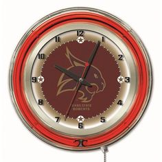 Use this Exclusive coupon code: PINFIVE to receive an additional 5% off the Texas State University 19 Inch Neon Logo Clock at SportsFansPlus.com