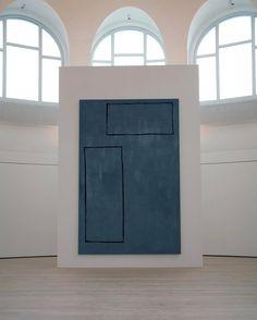 """#tbt 2011 #AndreButzer exhibition """"Der wahrscheinlich beste abstrakte Maler der Welt"""" (""""The probably best abstract painter in the world"""") at the Kestnergesellschaft, Hanover, 2011"""
