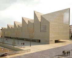 OODA guedes decampos propose a new bavarian history museum Concept Architecture, Landscape Architecture, Landscape Design, Concert Hall Architecture, Architect Drawing, Property Design, Commercial Architecture, History Museum, Backyard Landscaping