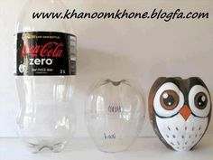 pop bottle owl