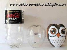 pop bottle owl