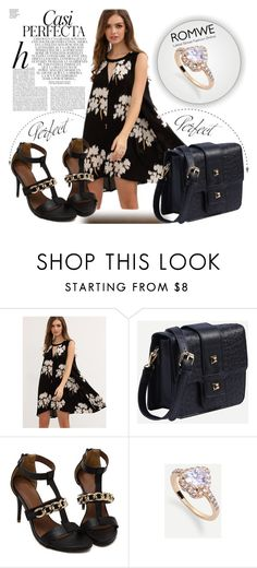 """""""ROMWE 13/4"""" by melissa995 ❤ liked on Polyvore featuring Whiteley"""