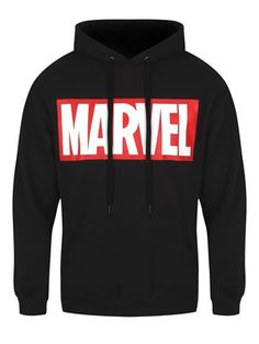 Marvel T-Shirts, Clothing and Accessories - Buy Online at Grindstore.com Marvel Logo, Marvel Hoodies, Marvel Sweatshirt, Marvel Comics, Fandom Outfits, New Outfits, Cool Outfits, Simple Shirts, Casual Shirts