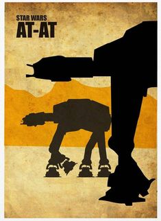 Star Wars Vintage Poster Set, designed by Marcus from Malaysia