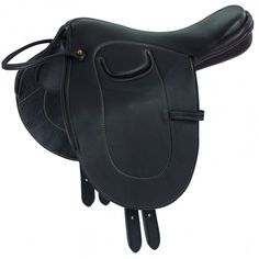 def6f9100bc Shires St Raphael Piccolo Pony Pad Saddle. Beautiful kids first Saddle with  a holding grip