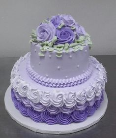 Wedding cakes, Italian cookies and pastries. Gerardo's Italian Bakery is a New England staple when it comes to baking. Purple Cake Pops, Purple Cakes, Purple Wedding Cakes, Elegant Birthday Cakes, Elegant Wedding Cakes, Birthday Cake Girls, Candy Cakes, Cupcake Cakes, Cupcakes
