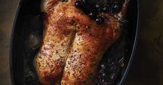 The Winemaker's Roast Duck with Shallots and Concord Grapes Recipe | SAVEUR