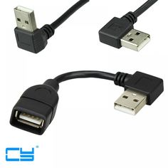 USB A Male to Female 90 Angled Extension Adaptor cable right/left/down/up cord Adapter cable hot sale high quality Angles, Cheap Computers, Shipping Packaging, Light Emitting Diode, Usb, Extension, Men And Women, Consumer Electronics, Cool Things To Buy