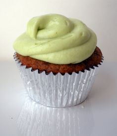 Banana Cupcake with Avocado Frosting | Trial By Fire