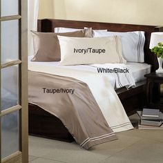 @Overstock - These pillowcases are composed of 100-percent Egyptian cotton with a sateen weave and 1600 thread count. Each set comes with two pillowcases.http://www.overstock.com/Bedding-Bath/Egyptian-Cotton-1600-Thread-Count-Pillowcase-Set/6722644/product.html?CID=214117 $39.99