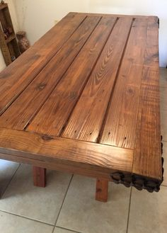 Barn Wood Farm Table With Matching Bench. Dining by CharismaGift