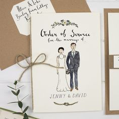 Gorgeous illustrations and bespoke wedding stationery from Wildflower Illustration Co.