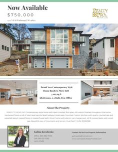 New Listing! Real Estate for Sale: $750,000-3 Bd/2.1 Ba Exceptional Two Level Custom River View Place Contemporary Style Mtn View Home on .18 Acre Lot at: 1335 North R Street, Washougal, Clark County, WA! Area 33. Listing Broker: Galina Kovalenko (360) 521-7363, Realty Pro Vancouver, WA! #ezRealEstateFlyers #RealEstate #NewListing #MoveInReady #WashougalRealEstate #RiverViewPlaceRealEstate #RiverViewPlace #ExceptionalRealEstate #ContemporaryRealEstate #Custom