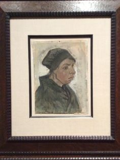Vincent van Gogh - Peasant Women Facing Right