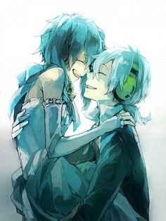 Ene & Konoha  Is that a dress? OTP forever :o