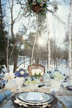 frozen wedding themes | Winter Wonderland Wedding | The Frosted Petticoat
