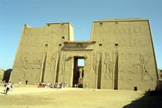 Temple of Edfu à إدفو, أسوان