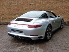 2016 (16) Porsche 911 (991) Targa 4S Gen II | Rhodium Silver