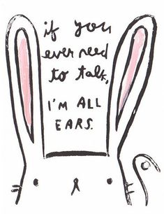 All ears - Postcard: