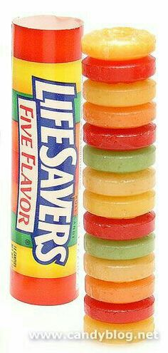 Life Savers, The Old Fashioned Candy ~ 5 Flavors. Cherry, Raspberry, Watermelon, Orange and Pineapple Fruit Flavors. Retro Candy, Vintage Candy, Vintage Toys, Sweet Memories, Childhood Memories, Lifesaver Candy, Old School Candy, Nostalgia, Nostalgic Candy