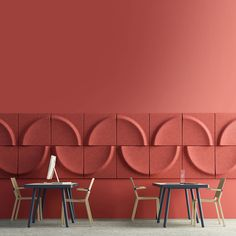 Gaia Wall Panels are decorative light weight sound absorbing panels. By rotating each Gaia piece you will generate a new effect on the wall. Office Interior Design, Interior Walls, Acoustic Wall Panels, Wall Panel Design, 3d Wall Panels, Wall Cladding, Wall Patterns, Wall Treatments, Retail Design