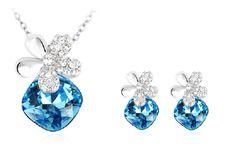 Schmuckset, jewelry set, Halskette und Ohrringe http://www.mybijouterie.ch/online-schmuckshop/schmucksets/