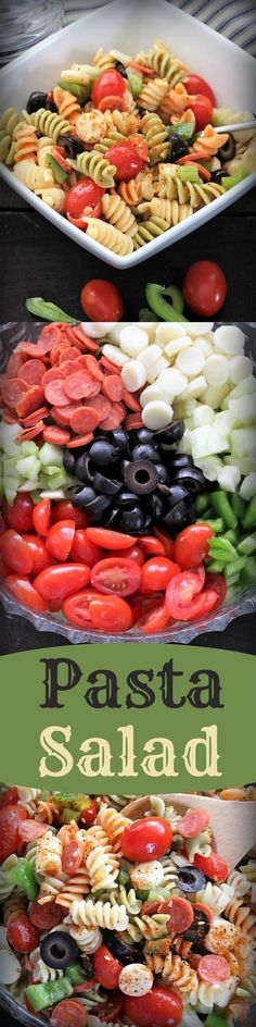 Pasta Salad, Recipe Treasures