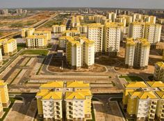 18 miles outside the capital of Angola, a Chinese-built development remains a ghost town as units are priced beyond what locals can afford.