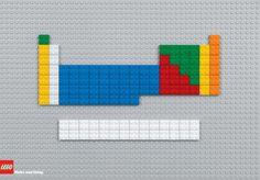 Tabla periódica LEGO
