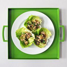 Larb Gai (Thai Chicken Lettuce Wraps)