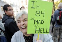 Occupy Wall Street---now recruiting granny's.  #examinercom
