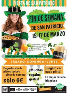 Flaherty's Zaragoza.La Gran Fiesta Irlandesa.Del viernes,14 al lunes, 17 (incluido).