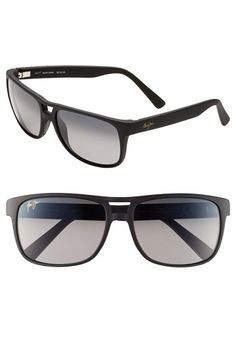 1c0bc752d6ff6 Men s Maui Jim  Waterways - Sunglasses - Matte Black--One of the best  things to come from my time at American Family was getting these sunglasses  in ...
