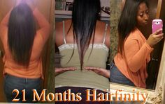 Here are some better pictures to show my WAIST-LENGTH hair! (The middle picture my hair was HEAVILY OILED!) I have been on HairFinity Hair Vitamins for 21 Months. Feel free to msg me if you have questions ladies (and gentleman!) I started at shoulder length and still growing strong!