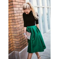 Flirty Holiday Skirt