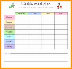 Weekly Dinner Menu Template - Weekly Dinner Menu Template , Printable Weekly Meal Planner Template Happiness is Homemade Weekly Meal Plan Template, Menu Template Word, Meal Planner Template, Food Template, Menu Templates, Calendar Templates, The Plan, How To Plan, Planning Budget