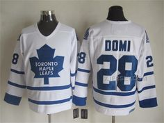http://www.xjersey.com/toronto-maple-leafs-28-tie-domi-white-ccm-jersey.html Only$50.00 TORONTO MAPLE LEAFS 28 TIE DOMI WHITE CCM JERSEY #Free #Shipping!