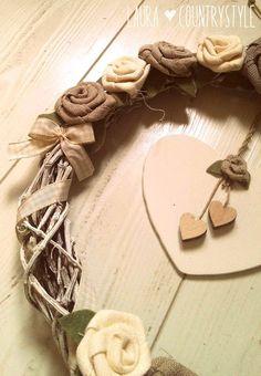 Country style: Rose, lavanda e lavagna