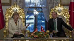 Συναντήθηκαν στην Κωνσταντινούπολη Μέρκελ - Ερντογάν