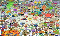 All of the spongebob Characters