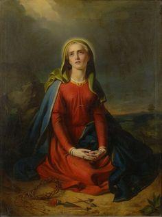"""Alajos Györgyi Giergl, """"Fájdalmas Szűz Mária"""" (""""Sorrows of the Virgin Mary"""")"""