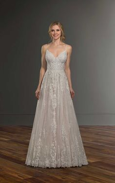 f7c054a99c5 58 Best Strappy Wedding Dresses images