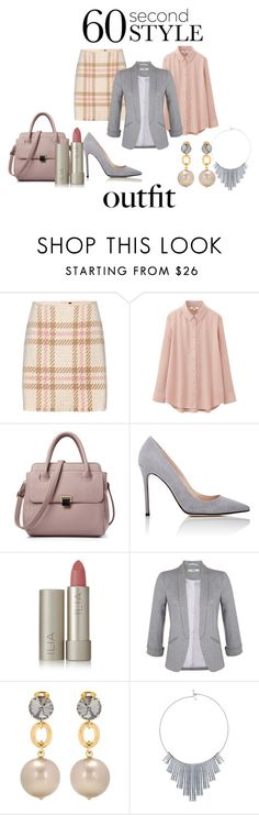 """""""interview outfit"""" by jan-fr ❤ liked on Polyvore featuring MARC CAIN, Uniqlo, Barneys New York, Ilia, Miss Selfridge, Marni, BERRICLE, jobinterview and 60secondstyle"""