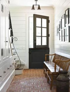 Love the split door and the color of it.