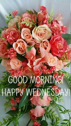 Happy Sun, Happy Wednesday, Day For Night, Corporate Gifts, Birthday Wishes, Good Morning, Floral Wreath, Good Morning Images, Buen Dia