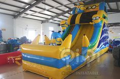 https://flic.kr/s/aHskeWM1rc | Minion Inflatable Slide With Pool | Get ready for our Great design minion water slide with pool! Yes, for sure, it is new design with splash pool in the front.Minion Despicable Me themed inflatables is always popular and is great for all ages. Features safety netting over climbing area and at the top.Our inflatable minion Despicable Me  More Info:http://www.qiqi-toys.com/Slide/Minion-Inflatable-Slide-With-Pool-1223.html