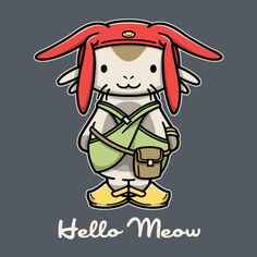 HELLO MEOW T-Shirt $10 Space Dandy tee at ShirtPunch today only!