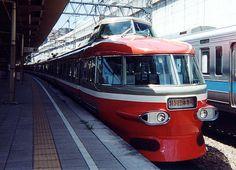 ODAKYU 3100NSE high speed train : Japanese private railway 1963s